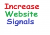 Add 5,000 Social Signals For Website for $3