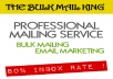 BULK MAILING SERVICE 5k sending - EMAIL MARKETING - PROFESSIONAL SERVICE