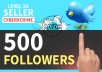 get you 500+ HQ TW followers in less then 24 hours for $1