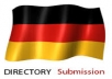 provide 20 German directory submission services... for $14