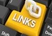 give you Backlink 15 x DA30 Blogroll