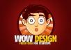 I will design a SUPERB logo design for $5