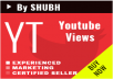 Fast Start 1000 High Quality Real Youtube Views