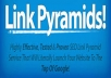 do linkwheel pyramid, SEO service to rank google for ... for $13