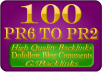 blog 100 high quality blog comments backlinks on actu... for $5