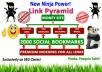 Rank top on Gooogle by High Quality NINJA Pyramid  HV. 1 SEO Backlinks for your website,blog,
