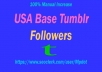 [ Get You Fast ] [90+] Tumblr Followers/Reblog Within Short Time Complete.