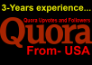 I will 12 Quora Upvotes Or Followers