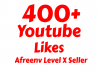 add 100+ Youtube Subs-criber or 400 Youtube Lik-es