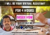 7 Hours Virtual Assistant Tasks
