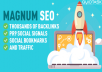 RANK IN THE TOP 10 - 10,000 Backlinks - 2500 Signals - UNLIMITED Traffic - Bookmarks with 50 SHOUTOUTS TO 1 MILLION people on Social Media included - 20,000+ orders completed - Magnum SEO Basic