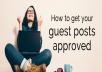 I Will Write Guest Post pearltrees Ideafit Talkmarkets