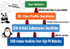 Rocket Your SEO Ranking with 3 Tier Link Pyramid(20 .edu,200 Article,1000 Indexers Links)