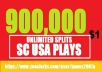 900,000 USA PLAYS BEST QUALITY NON DROP  DOLLAR ONE ONLY