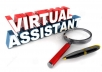 Virtual Assistant 1 - 2 hours - Social Media manage - Website-Blog manage