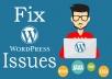 Wordpress Customize/Install/Fix/Optimize Services