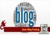 build Seo friendly Adsense support Word press Auto Bl... for $75