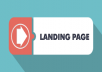 I will give you code three lading page for blogger for $5