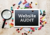 Get SEO Website AUDIT - know all about your site