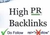 I Will Create Manually 10 High Quality PR10 to PR6 High DA Permanent Web2.0 Backlinks