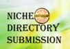 Provide 10TN Niche Directory Submission Manually Pr9 ... for $1