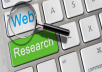 do Web Research,data Mining,data entry, Excel Template etc