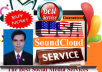 Add 2000+ USA HR SoundCloud plays and 20-25 HQ staying guranteed USA likes to your track
