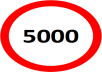 GET 5000 Real People to your Social Media Sites