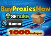 rent you 5 High Speed Private Proxies for one month for $15