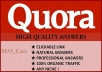 promote your website on 15 Quora Answers