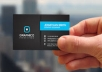 Design a eye catching business card (with 1 free design) with unlimited revisions