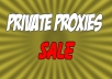 Rent you 10 Fast Private Proxies from US for $8
