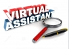 I can do as your VIRTUAL ASSISTANT