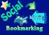 Manually Do TOP 25+ PR8 to PR5 Safe High Alexa Rank Social Bookmark Backlinks