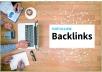 Provide 1200 Do-follow High PR Metrics Backlinks