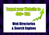 Target your Website to 400+ USA Web Directories &... for $5