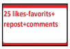 Real Manual Music promotion 25 likes-favorits+repost+... for $1
