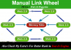Manually Create Link Wheel Hit your website Google top 10 in a month