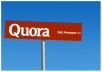 Manually create 12 Do-Follow Quora Answer Backlinks