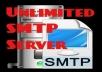 Unlimited smtp server for $30