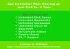 Get Unlimited Web Hosting for $15