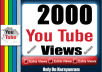 Get 2000 High Quality Views Life Time Guarantee Fully safe