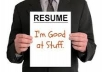 Professional resume writing CV writing service