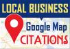 I Will Do 140 Google Map Citations For Local SEO