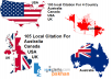 Manually Create 105 Local Business Citations For Canada or UK or USA or Australia