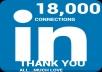 Promote You On My 18300 Linkedin Network promote You On My 18300 Linkedin Network