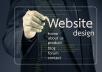 High Quality Website Designs for $17