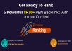 REOPENED | EliteX 5 Homepage TF 30+ Powerful PBN Backlinks Posts V2 - Proven Ranking with Unique Content