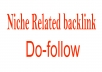 Publish Guest Post On my Niche Related Blog With Dofollow Link