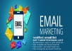 Give You 5k Email List Clean Email Lists fast delivery